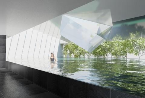 水中歩行専用プール SATA