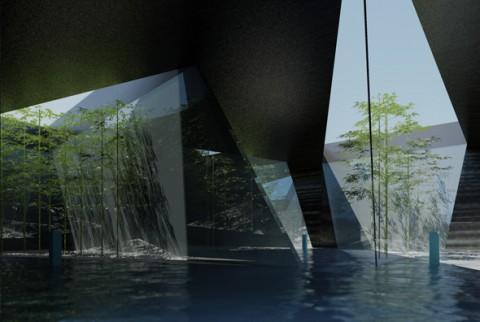 水中歩行専用プール ラウンジ