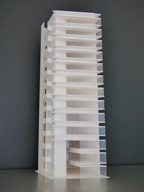 西新宿1丁目プロジェクト模型2