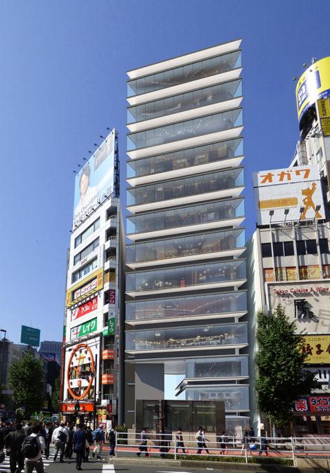 西新宿1丁目プロジェクト 完成予想図1