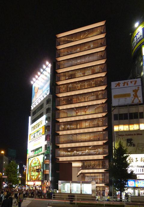 西新宿1丁目プロジェクト 完成予想図2