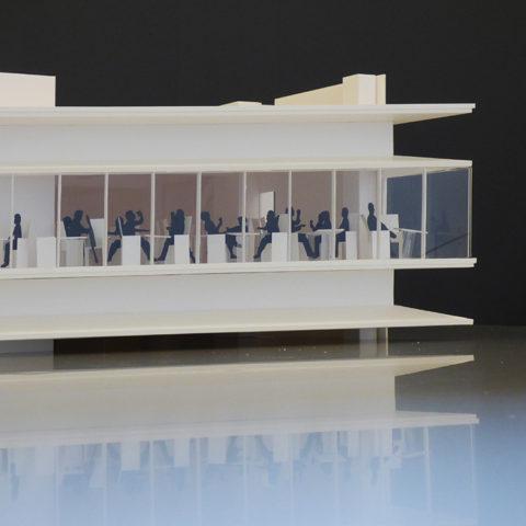 西新宿1丁目プロジェクト模型3