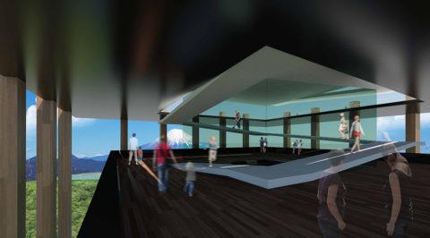 3階展望スペース